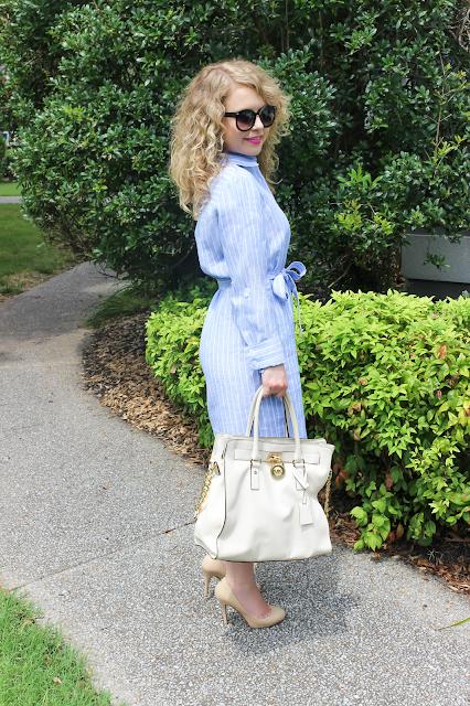 Ann Taylor, professional attire, lawyer fashion blog, lawyer fashion, Nashville style blog, shirt dress, Ivanka Trump, work outfit, professional wardrobe