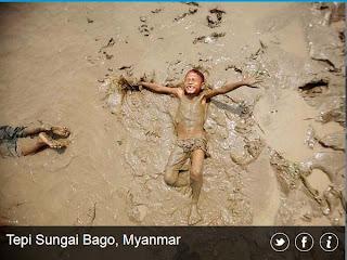 inovLy media : Tepi Sungai Bago, Myanmar