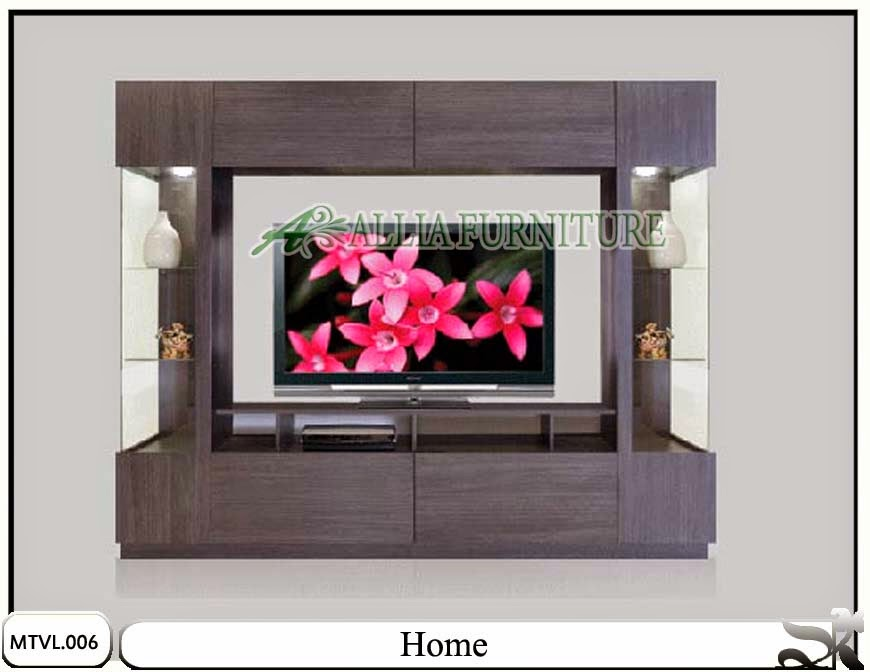 Lemari tv lcd minimalis model home