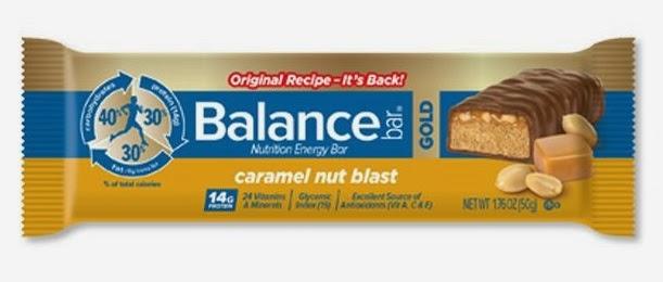 Caramel Nut Blast Balance Bar