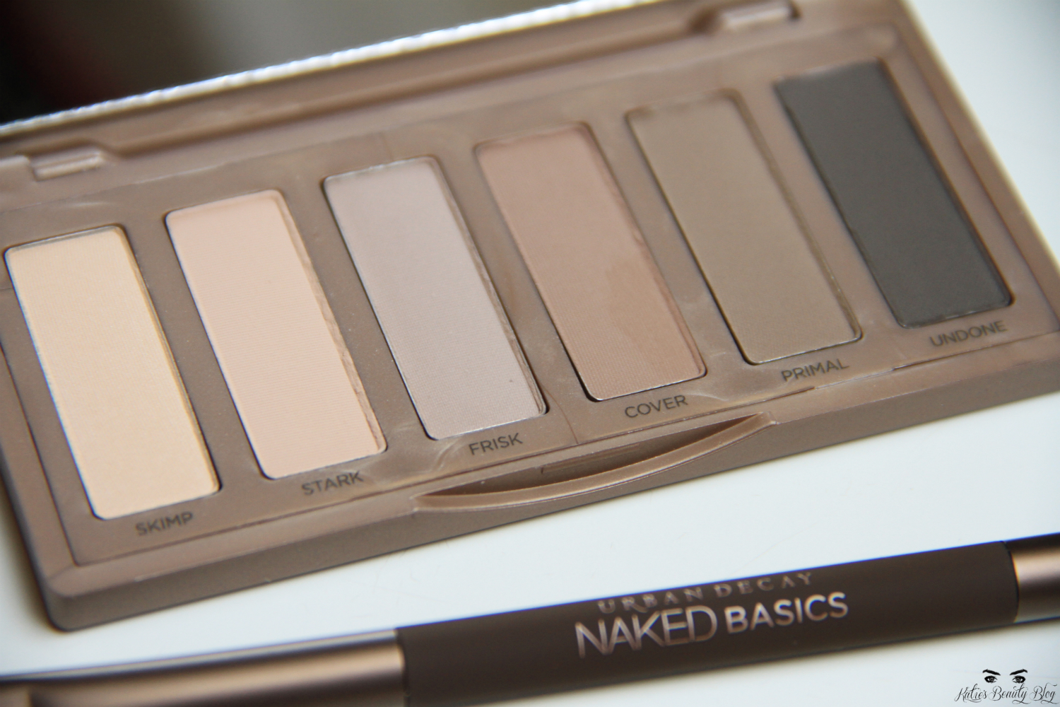 My Pale Skin: Urban Decay Naked 2 Basics Review