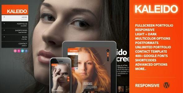 Kaleido Responsive Fullscreen Studio v1.2 WP Theme