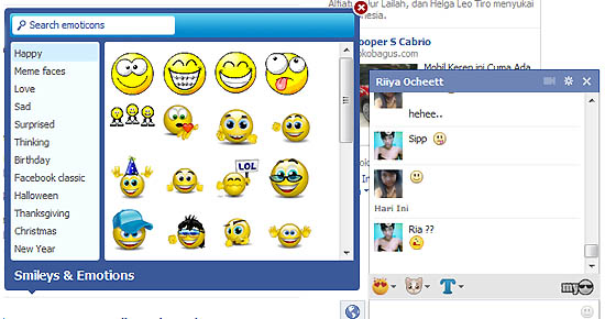 My Emoticons 1.6 for Twitter, Facebook, and Gmail 2