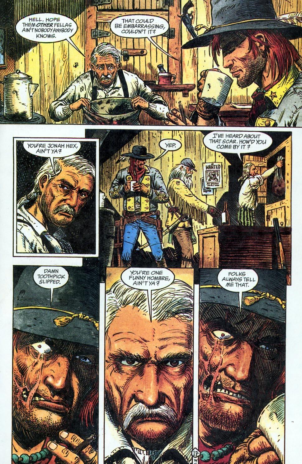 Jonah Hex: Two-Gun Mojo Issue #1 #1 - English 19