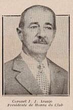 José João de Araujo, Presidente Perpétuo do Bonsucesso.
