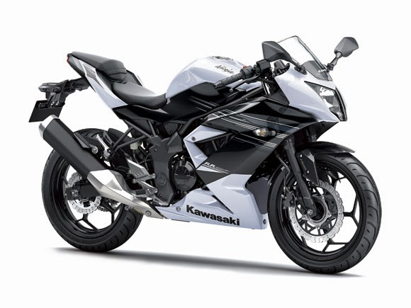 Ninja 250 SL RR Mono Putih