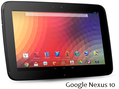 google nexus 10 vs apple ipad