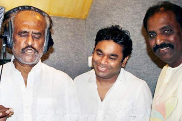Superstar Rajinikanth's Hindi Song