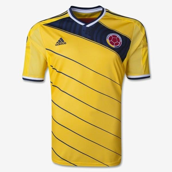 Jersey Piala Dunia 2014 Negara Colombia