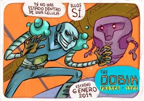 Un cómic de ciencia fuera de lo común: THE OOBIK