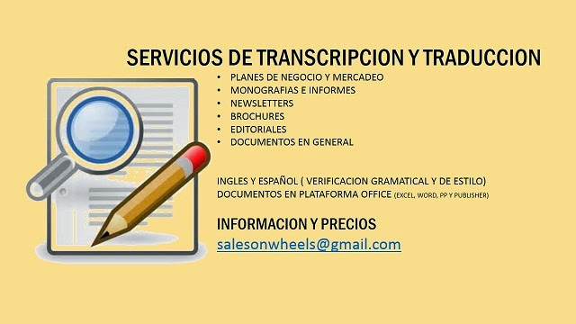 Transcripcion y Traducción de Documentos