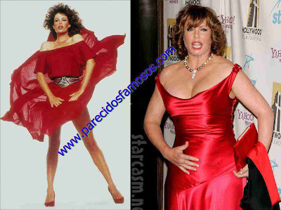 Kelly Lebrock antes y después