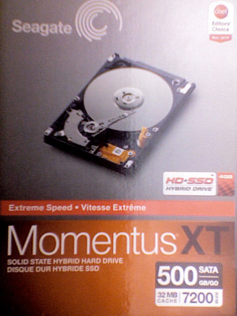 Seagate MomentusXT 5000GB Solid State Hybrid Hard Drive