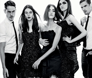 Magazine Photoshoot : Isabella, Cristina, Nathalia, Natan, David And Indaia Photoshot For Gui Paganini Marie Cla