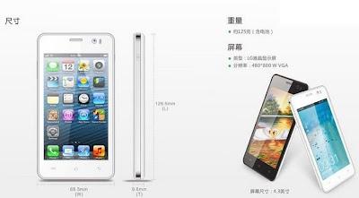 jiayu g5 lookalike - Jiayu G5: ¿Para qué quieres un iPhone?