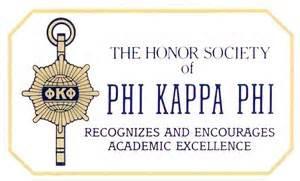 Member of Phi Kappa Phi