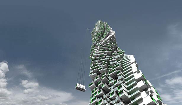 Ý tưởng khu trung cư Unit Fusion tại Hồng Kông