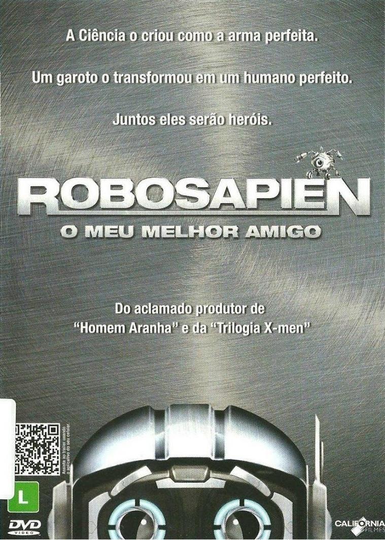 Robosapien: O Meu Melhor Amigo – Dublado (2012)