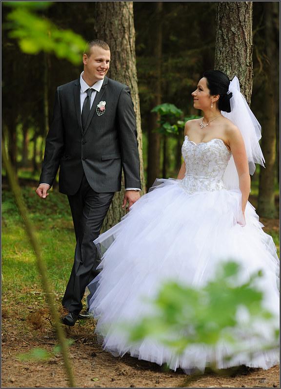 kokybiška naturali vestuvių fotosesija gamtoje