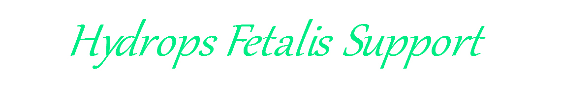 Hydrops Fetalis Support