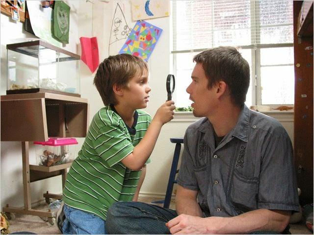 Ethan Hawke en Boyhood