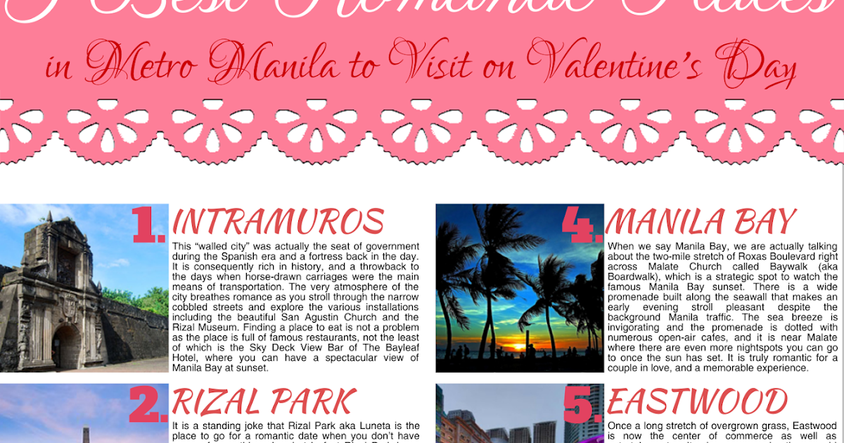 Metro manila best dating place