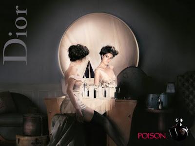 pub Dior Poison tête de mort