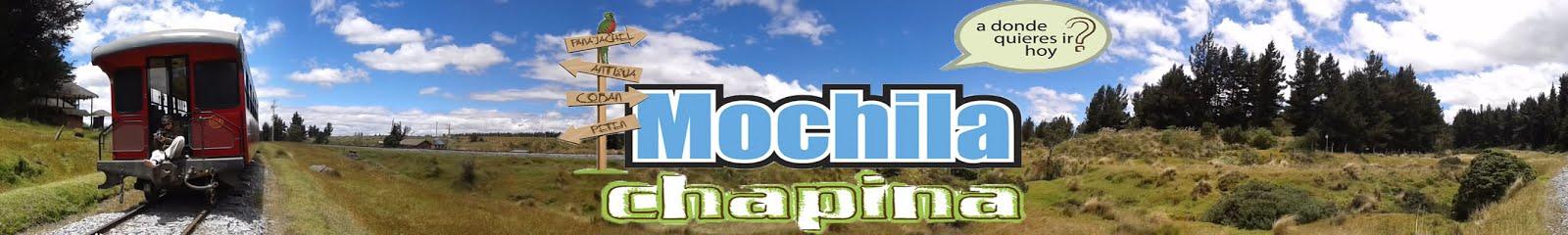 Mochila Chapina