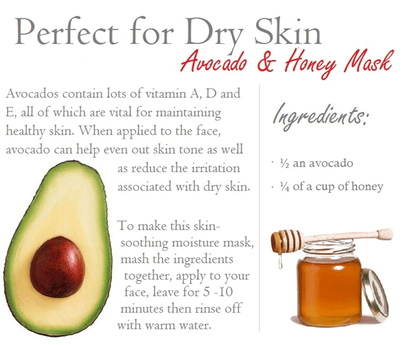 DIY Face Mask Dry Skin
