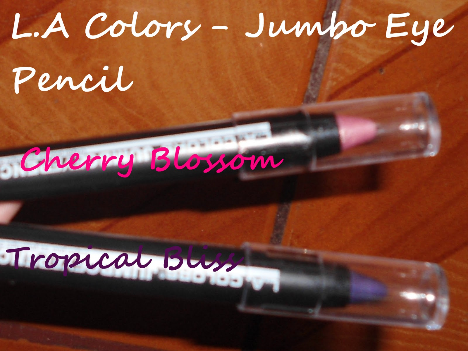 how to use la colors jumbo eye pencil