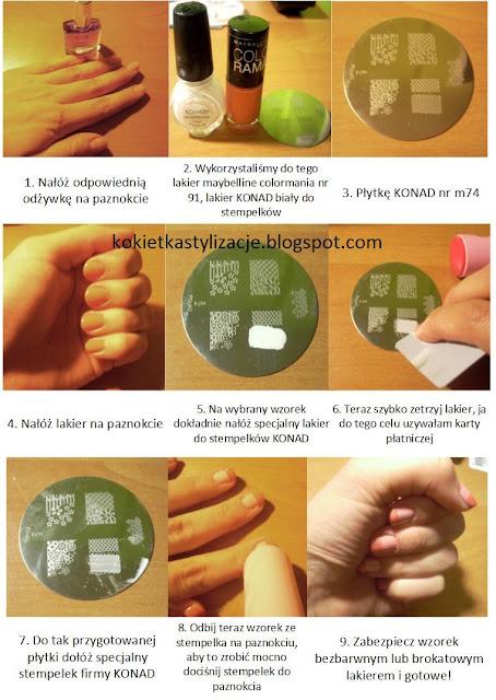 wzorki na paznokcie konad