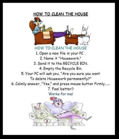 How To Clean The House that british woman: how to clean the house.