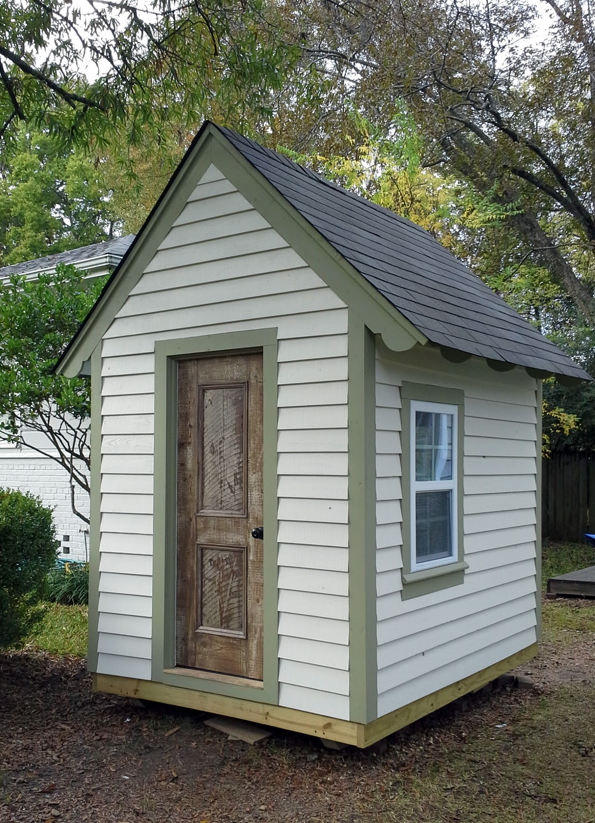 Aplaceimagined free playhouse plans for Simple outdoor playhouse plans