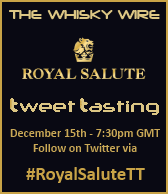 Royal Salute Tweet Tasting