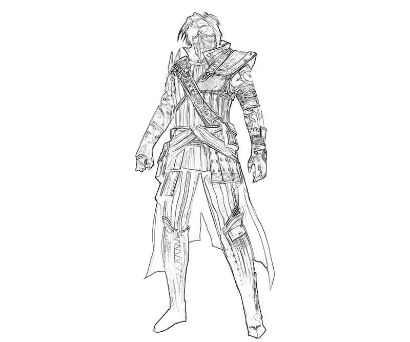 printable-guild-war-3-armored_coloring-pages