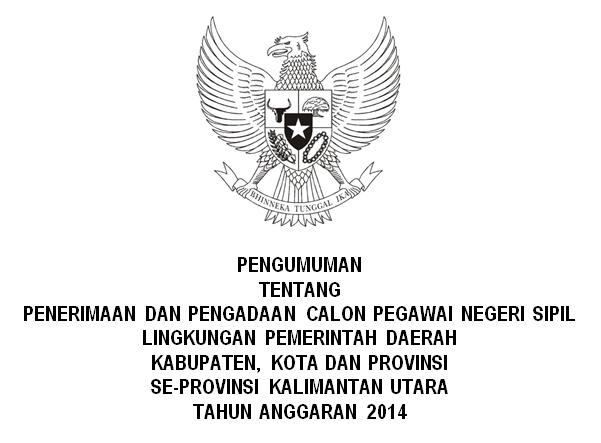 Penerimaan CPNS Seluruh Kalimantan Utara