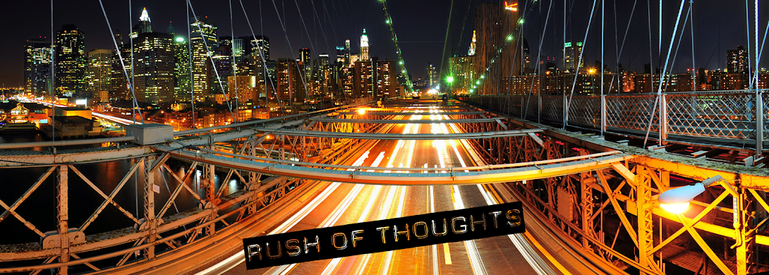 Rush of Thoughts