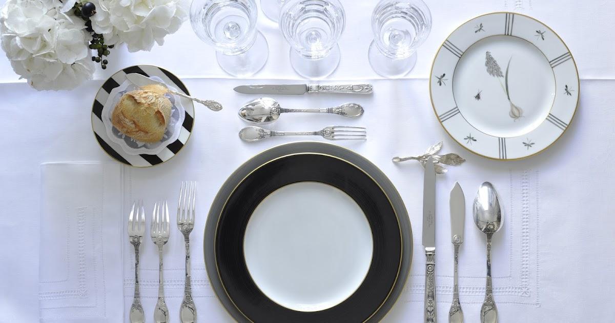 marie-paule faure: petites leçons d'art de la table