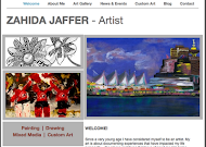 My Artist Homepage