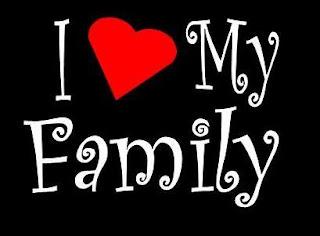 my fantastic family