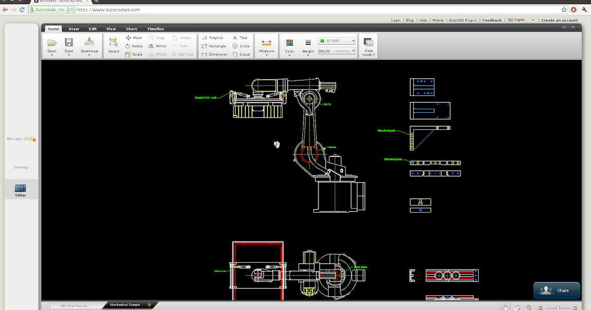 Linux Aided Design Why I Will Not Use Autocad Ws