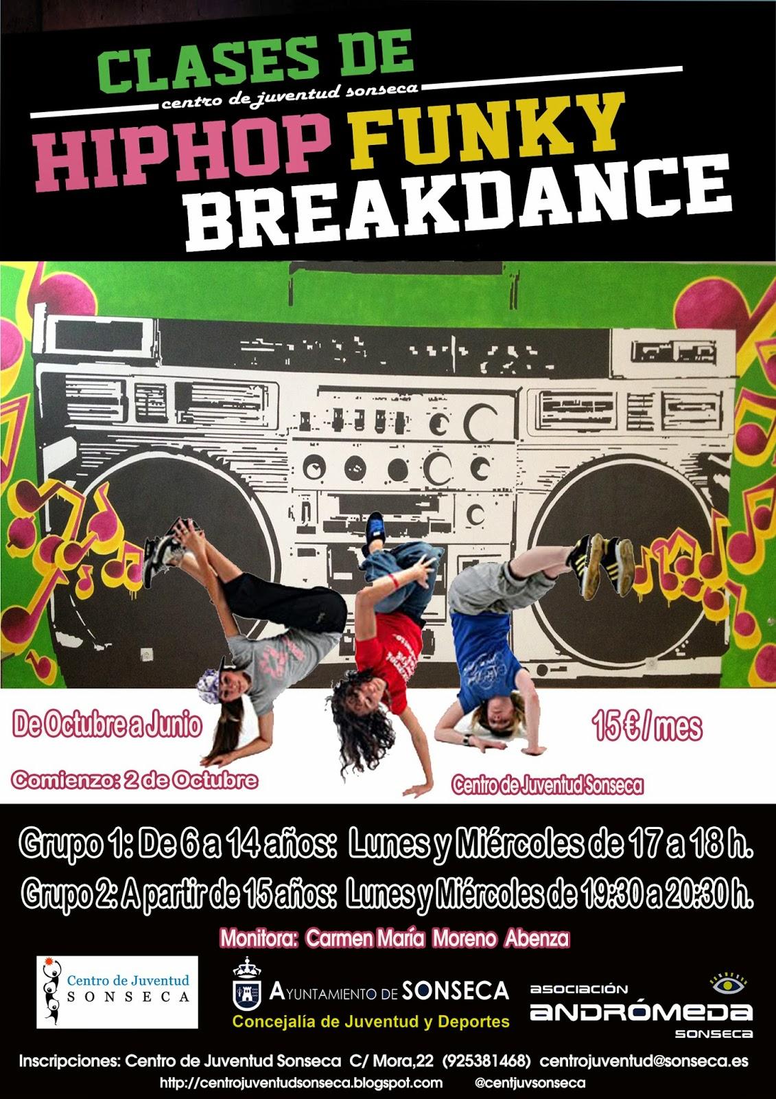 Escuela Clases Hip Hop en Granada Cursos nios y adultos