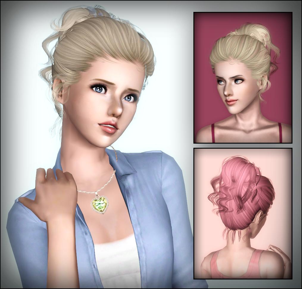sims 3 flirty hair bow retexture Peggyzone fa hair 15 retexture peggy female hair 4065 without bow conversion xm sims 3 flora hair 08 conversion.