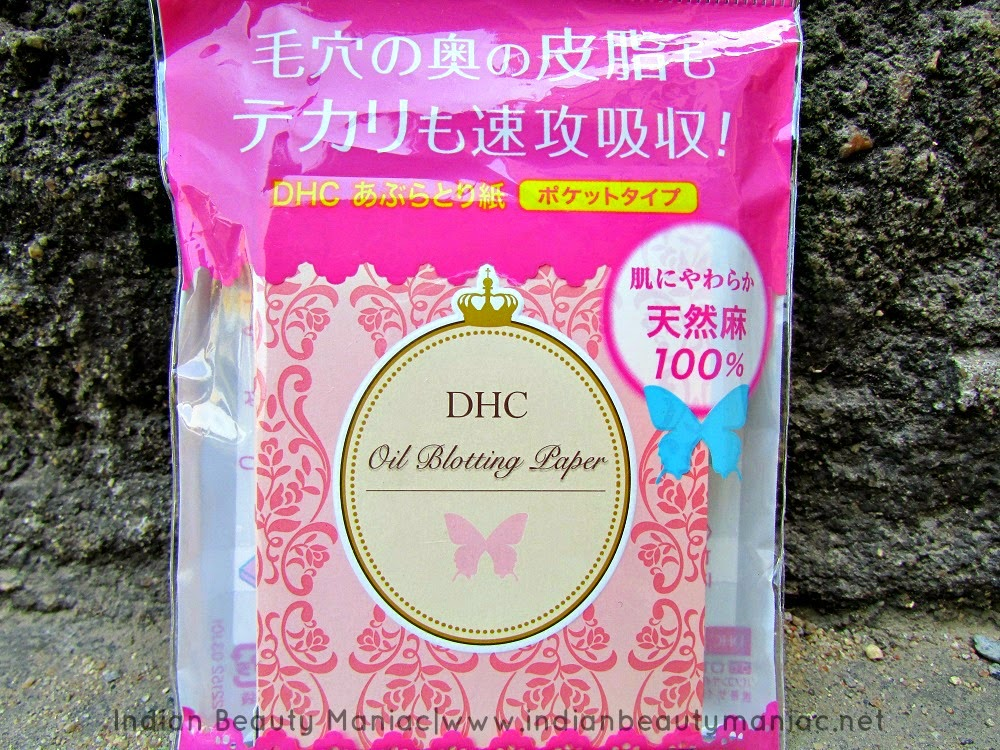 DHC Blotting papers, Blotting papers, Summer Makeup essentials, Indian Beauty Blogger, Indian Makeup Blogger