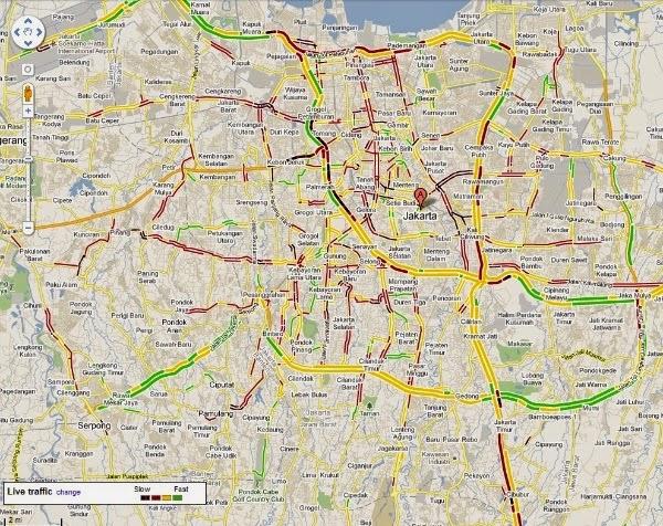 Cara Kerja Google Maps Memprediksi Lalu Lintas