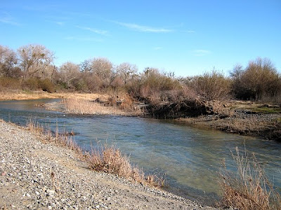 Cache Creek at Cache Creek Nature Preserve