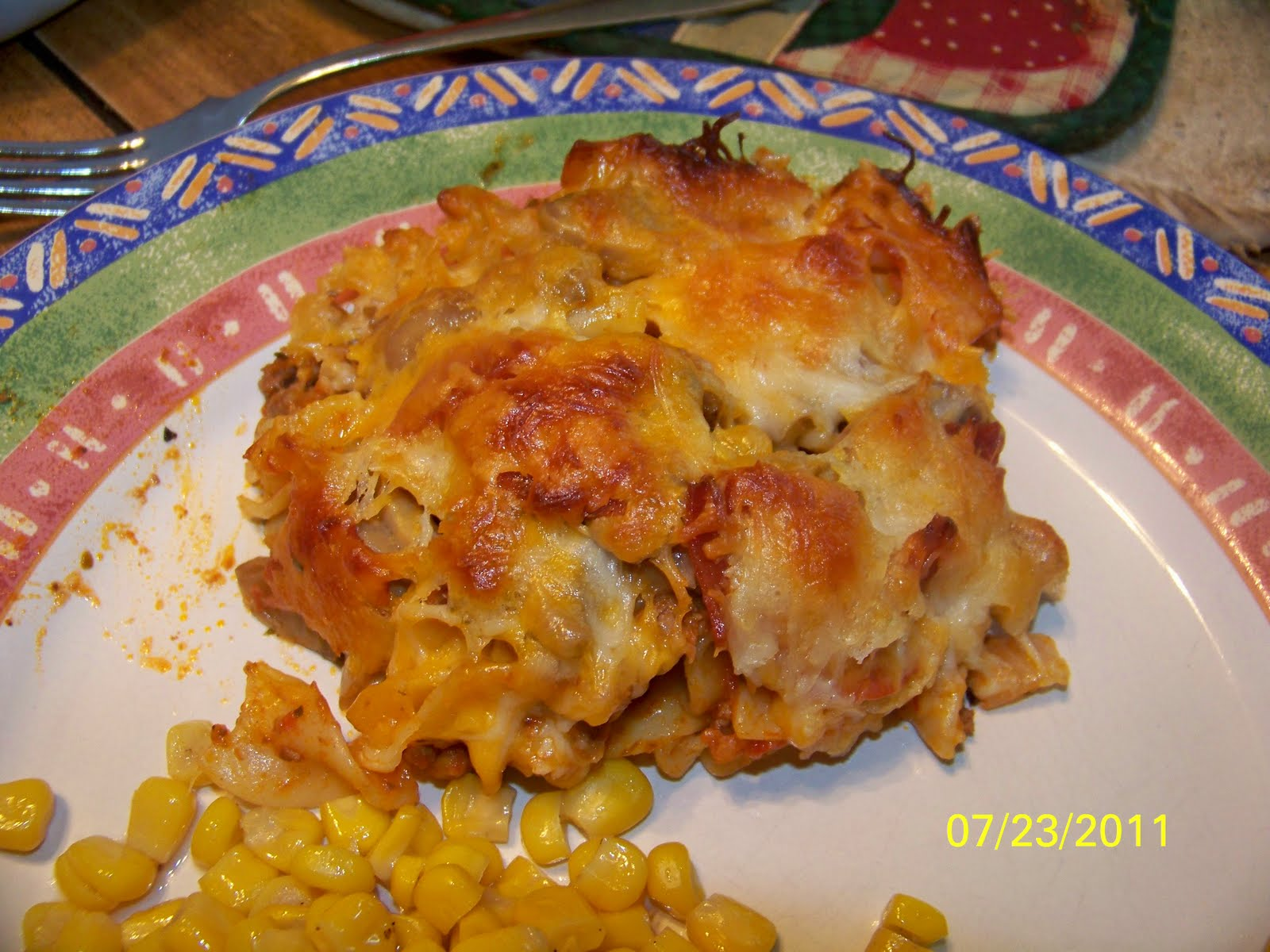 Connor's Cooking: Pepperoni Pizza Casserole