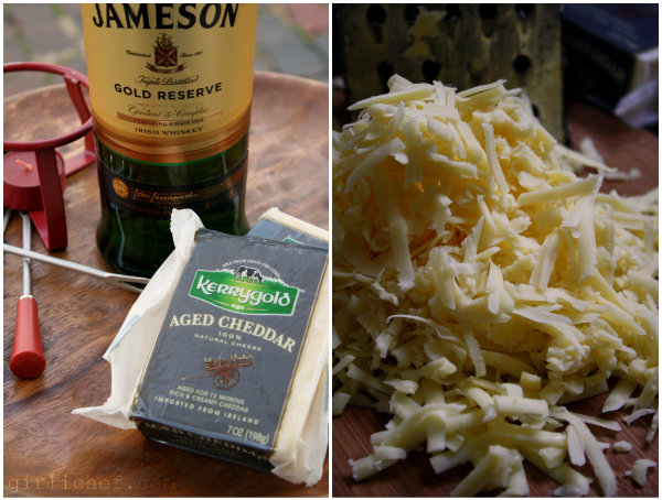 Irish Cheddar and Irish Whiskey