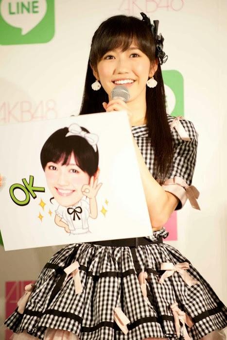 Las primeras 16 integrantes de la elección Senbatsu de AKB48 tendrán sus stickers en LINE 05