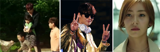 Choi Jin Hyuk 최진혁 as Daniel plays with kids at the orphanage / poses as a DJ / Wang Ji Won 왕지원 as Kang Se Ra